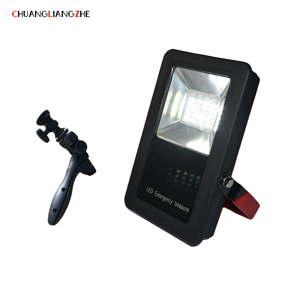 CHENGLIANGZHE LED Floodlight Work Maintenance Lights Portable Lighting Searchlights Outdoor Waterproof hunting search lights search z35 lights page 1