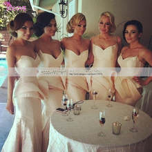 Sexy Off The Shoulder Saudi Arabia Bridesmaid Dress Sweetheart Ruched Bridesmaid Dress vestido de dama de honor (SL-B59)