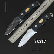 Fixed Knife 7CR17 Blade G10 handle Straight Knives Tactical Knife Camping Outdoor Survival Knife Utility Pocket Tools EDC