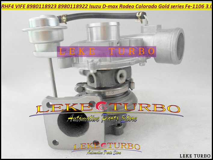 RHF4 VIFE 8980118923 8980118922 Turbo Turbocharger For ISUZU D-Max For Holden Rodeo Colorado Gold series TD Fe-1106 3.0L turbo for isuzu d max rodeo pickup 2004 4ja1 4ja1 l 4ja1l 4ja1t 2 5l 136hp rhf5 rhf4h vida va420037 8972402101 turbocharger