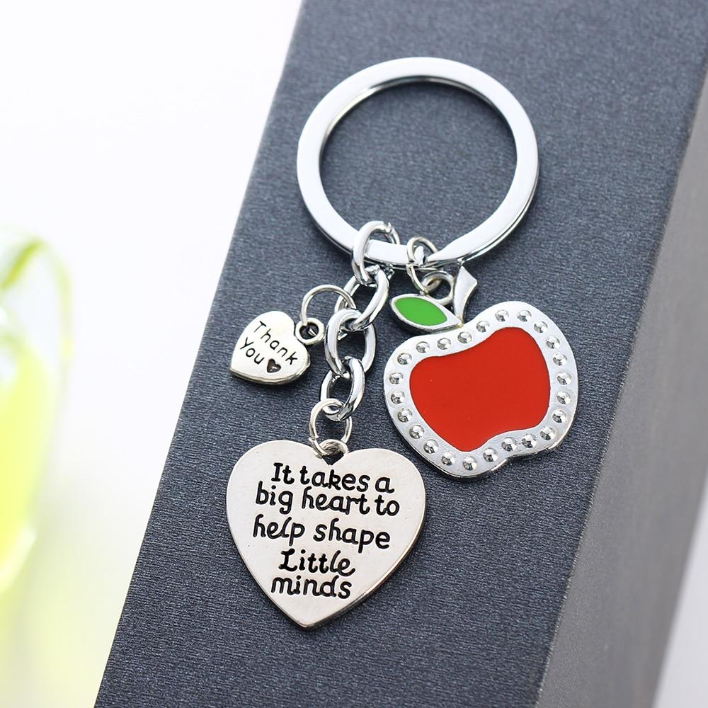 Mode Schöne Lehrer Geschenke Apple Anhänger Liebe Herz ...