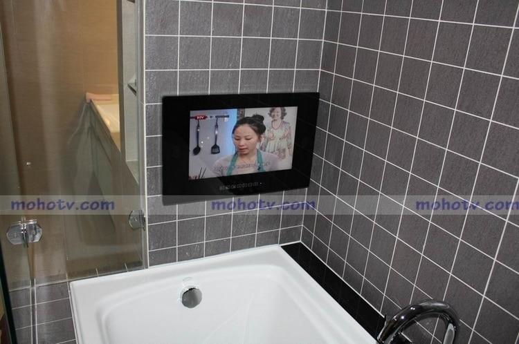 19 Waterproof Bathroom Led Tv For Shower Hotel Kitchen Dvb T Hdmi Usb 2 0 Ip66 Structure Free Ems Ups To Russian Brazil Led Tv New Tv Wordstv Sharp Led Aliexpress