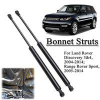 2 stücke Vorderen Haube Haube Unterstützung Gasdruckfedern LR009106 Für Land Rover Discovery/Range Rover Sport 2004-2014