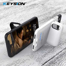 KEYSION 4000/5000mAh Battery Charger Case For iPhone XS MAX XR X Battery Power Bank Portable Charging Case Cover for iPhone XR