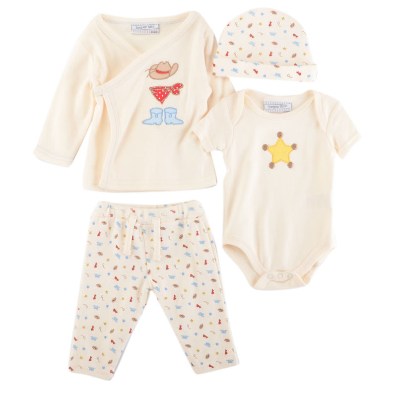 Luvena Fortuna Baby Boys&Girls children kids 4-Piece Jacket,Trousers,Bodysuit,Hat Set F7762 &F7552P&F7753B fortuna f 45106