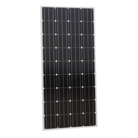 150W 12V Mono Solar Panel For 12v Home System Off Grid Free Shipping