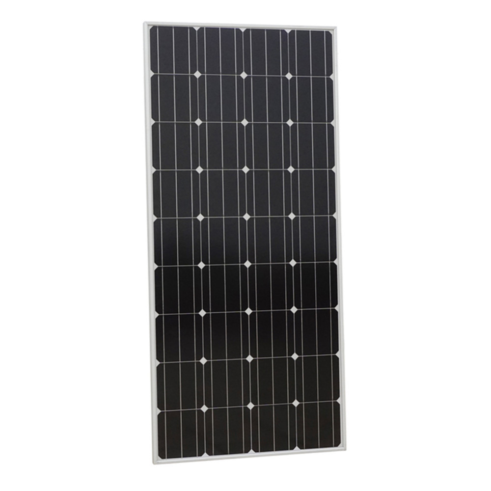 Eco 160W 12V  mono solar panel Pv solar module for 12v Battery Charger, home system, RV Boat Homes off grid & Free shipping 300w solar system complete kit 3pcs 100w photovoltaic pv solar panel system solar module for rv boat car home solar system