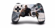 1pcs God of War 4 PS4 Skin Sticker Decal Vinyl For Sony PS4 PlayStation 4 Dualshock 4 Controller Skin Stickers
