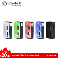 Original 220W Joyetech ESPION Tour Box Mod Battery Powered by dual 18650(not included) Electronic Cigarette mod box