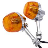 Clignotant Moto pour Honda XL100 C70 CT70 CT90 CB350 CM400 CB450 CB750 Moto clignotants clignotants lampe ambre