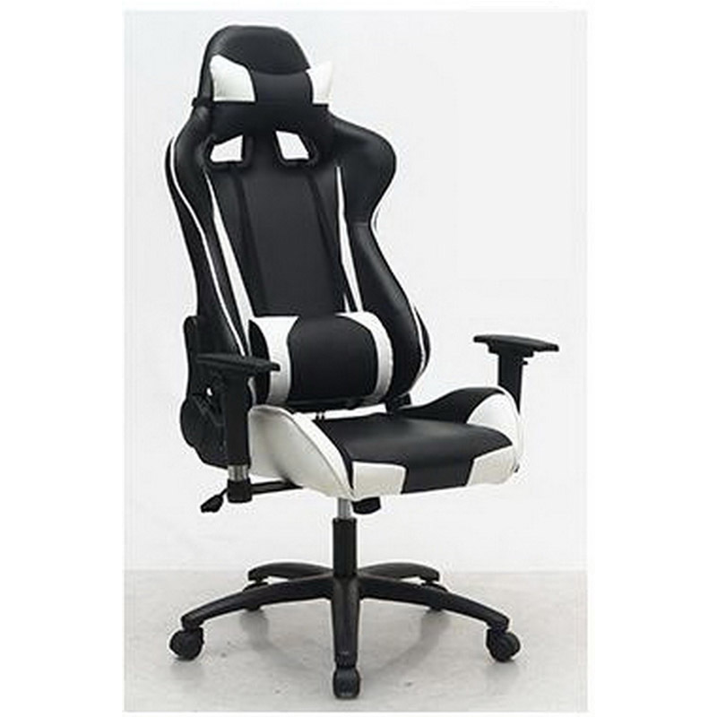 L350111/360 degree rotation/ Fixed handrail/Home office boss massage chair /gaming chair/Ergonomic design 240340 high quality back pillow office chair 3d handrail function computer household ergonomic chair 360 degree rotating seat