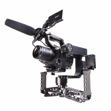 In Stock 2016 New Nebula 4200 5-axis Gimbal Stabilizer Double Handle Gyroscope BMPCC Fantastic Product for 5DRS 5D3 5D2 A7S