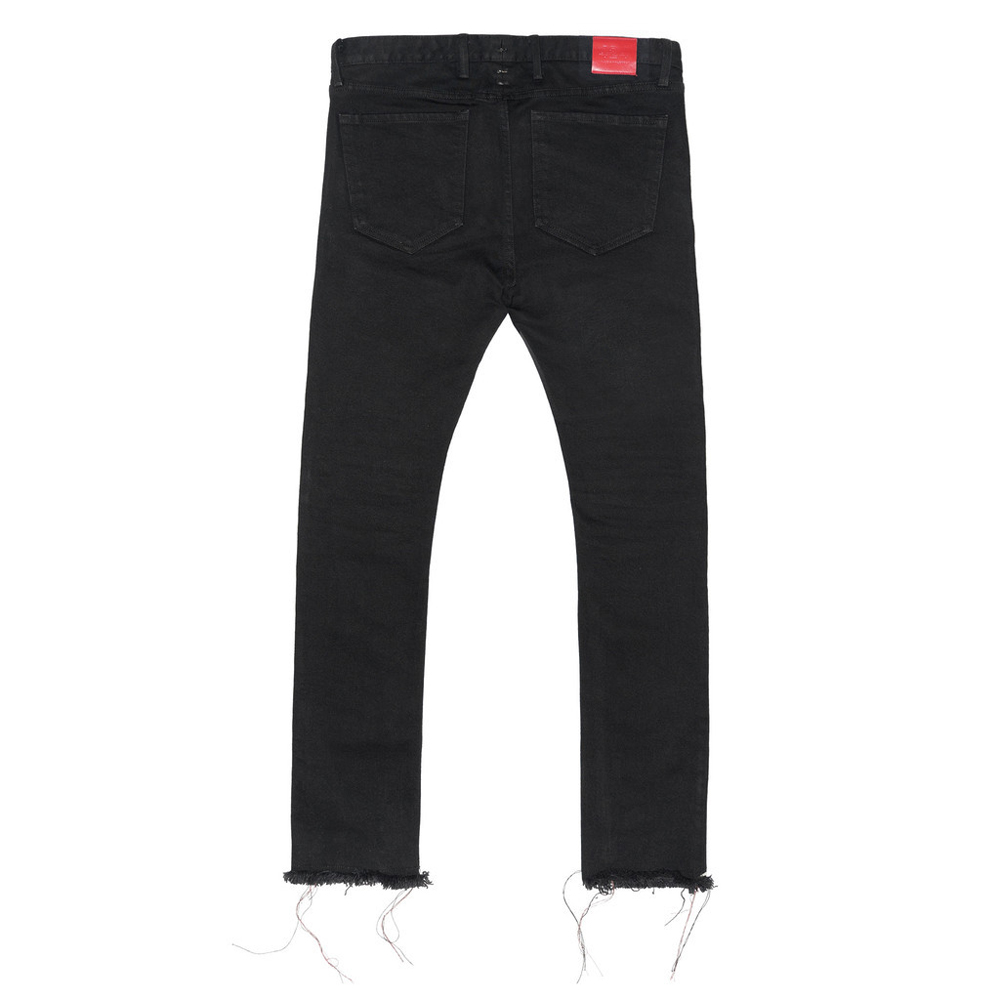 High quality men bottoms zipper ninth pants denim black jeans ripped hip hop swag hiphop 424 slim fit skinny brand clothes sakte