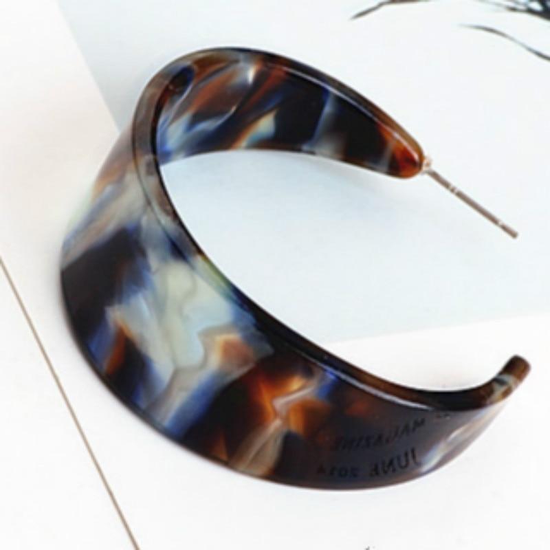 Wholesale DIY Japan South Korea Acetic Acid Earrings Eardrop C Shape 8colors 16pcs/lot Acetate Slabs Ladys Jewelry Decoration