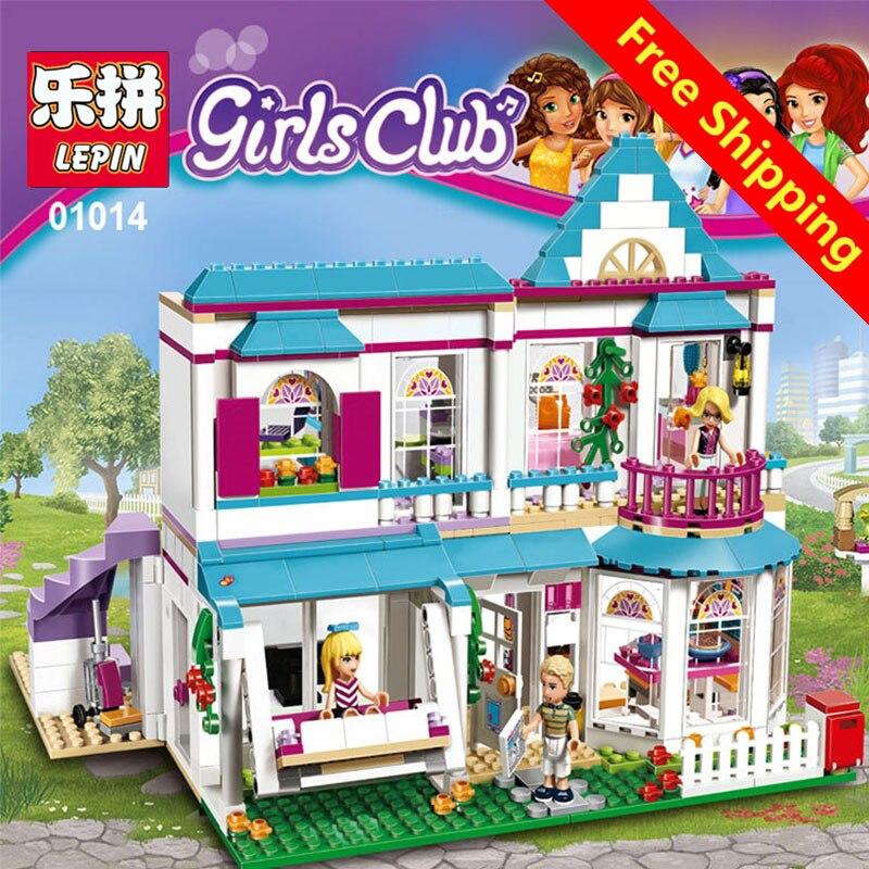 lepin 01014 Genuine Good Friend Girls Series Lepin The Stephanie\'s House Set Building Blocks Bricks with Legoing Friends 41314 cms 01 18 набор десертных ножей pavone