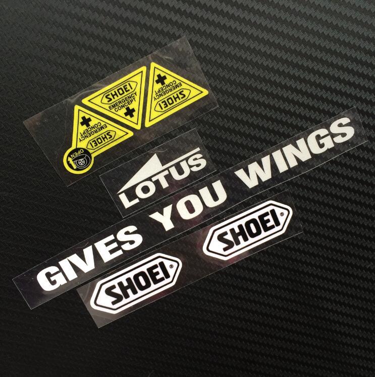 Shoei Sticker Decals Helmet Glasses Stickers Marquez