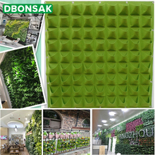 Wall Mount Hanging Planting Bags Home Supplies Multi Pockets DIY Grow Bag Planter Vertical Growing Vegetable Living Garden