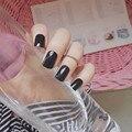 24 шт., накладные ногти Ложные, многоразовые, пластиковые, длинные, квадратные накладные ногти из акрила для маникюра