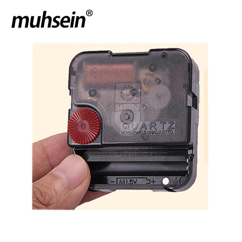 2019 muhsein New Large Torque Movement Wall Clock Mechanism Sweep Quartz Movement DIY Clock Accessory Free Shipping