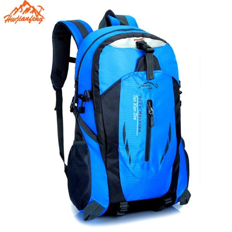 2016 New Waterproof Nylon Hike Backpack Laptop Bag Rucksack Mountaineering Bag Men's Travel Bags Backpack 6 color new hike
