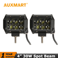 Auxmart 4 polegada 30 W Led Light Bar CREE Chips de LED Spotlight Focos feixe 4x4 ATV Offroad Caminhão AWD Wagon 4WD Pickup SUV DC 12 v 24 v