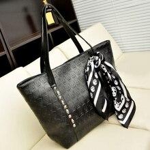 Fashion Leather Women Skull Bag Female Solid Punk Shoulder Bag