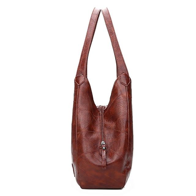 Hobos Bag Women Leather Handbags Female Shoulder Bags Lady Tote Soft Bag Vintage Bags for Women Casual Bolsos Feminina 2019 Sac 2