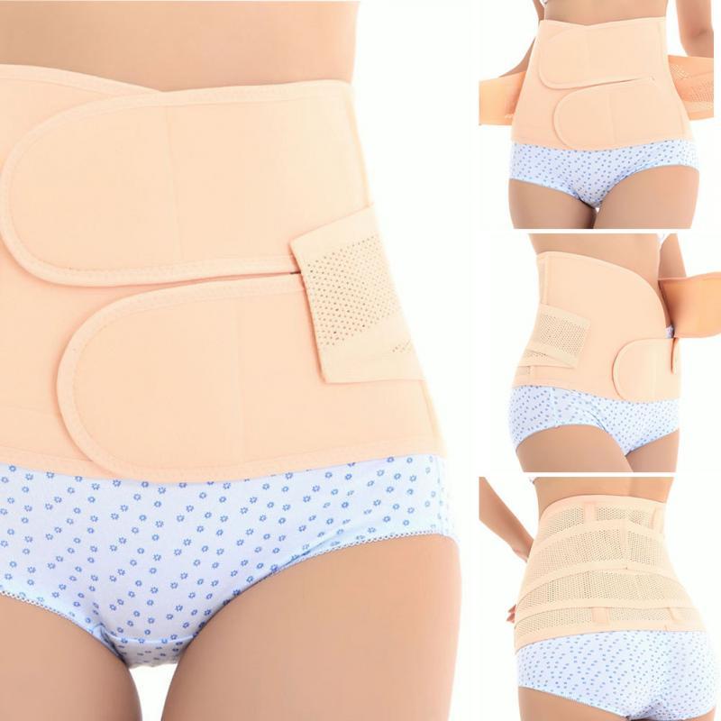 Adjustable Postpartum Girdle Belly Band Pregnancy Belt Maternity Abdominal Recovery Body Shaper Corset Slim Modeling Girdle