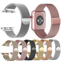 Essidi ממילאנו צמיד רצועת עבור אפל שעון סדרת 1 2 3 4 5 38mm/40mm 42mm /44mm שעון להקת לולאה עבור Iwatch 1 2 3 4 5