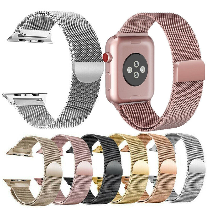 Essidi Milanese Bracelet Strap For Apple Watch Series 1 2 3 4 5 38mm/40mm  42mm/44mm Watch Band Loop For Iwatch 1 2 3 4 5