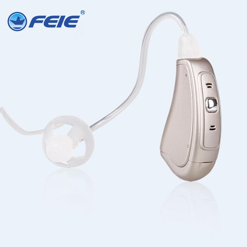 FEIE RIC a hearing aid digital wholesale price MY-19S apparecchi acustici pharmacy free shipping feie s 12a mini digital cic hearing aid as seen on tv 2017 aparelho auditivo digital earphone hospital free shipping