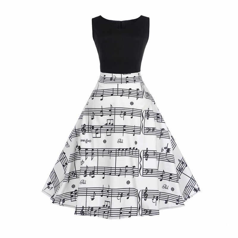 bdbef66764f7 Women Summer Dress 2019 Fashion Elegant Pin Up Floral Swing Dress Retro 50s  60s Robe Vintage