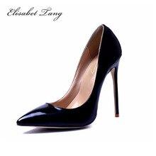 Marke Schuhe Frau Pumpt Hohe Absätze Roten High Heels 12 CM frauen Schuhe High Heels Hochzeit Schuhe Pumps Schwarz Nude Schuhe Heels