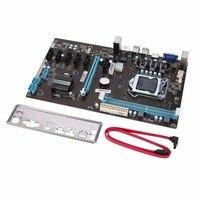 Stable Version PCI Express 1x To 16x Riser 6 GPU Mining Motherboard 6pcs PCI E Extender