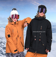Для женщин мужские сноуборд совета куртка водонепроницаемый ветрозащитный Лыжная куртка спортивная куртка мужская зимняя куртка Горные л