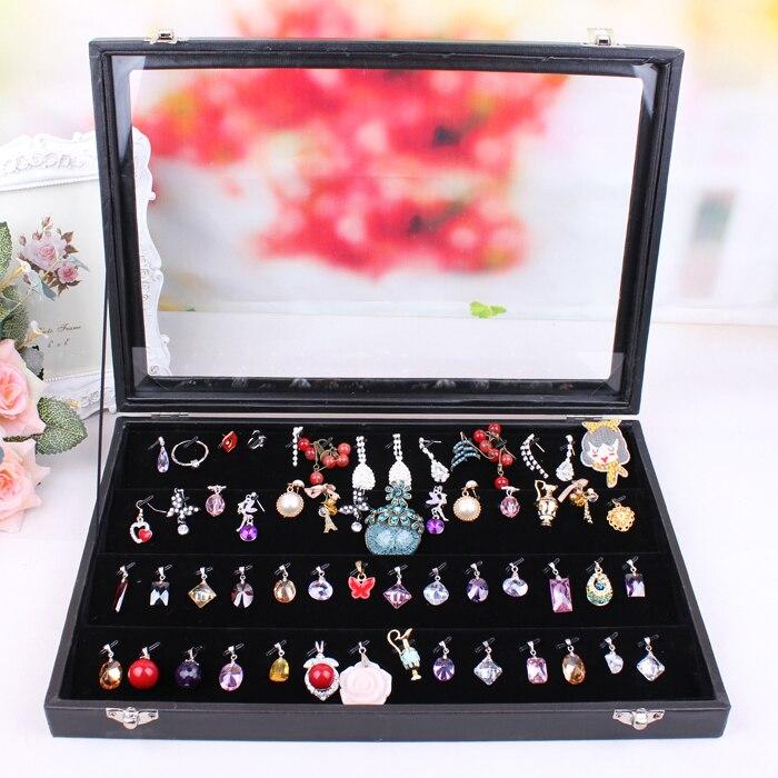 Stud Earrings Box European Style Earring Boxes Jewelry