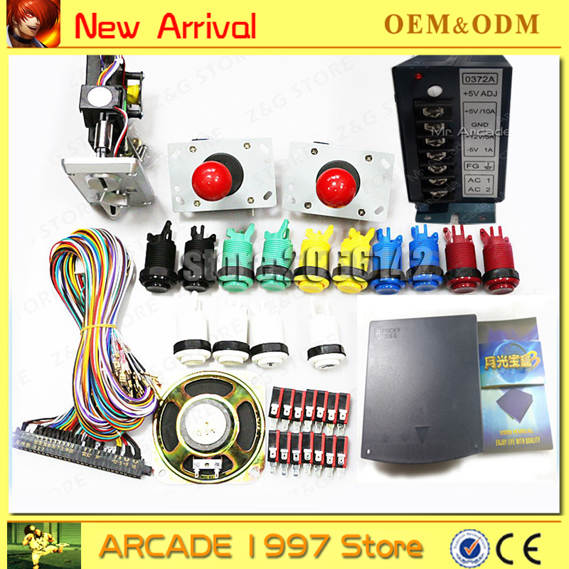 Pandora Arcade jamma games kits 520 in 1 PCB game board version Box 3 CGA & VGA Arcade Game Cabinet 520in1 pandora 520 in 1 game pcb board box 3 jamma arcade multi game card cga vga output for crt lcd monitor diy arcade game kit parts
