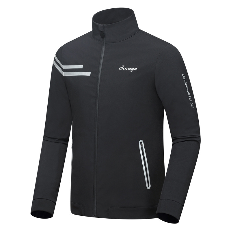 2020 Spring Autumn Men Golf Jackets Waterproof Full Zipper Casual Jacket For Male Windproof Golf Apparel D0953
