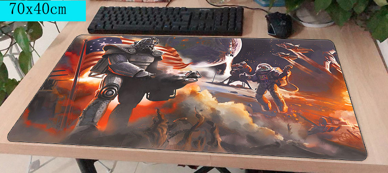falloutd mouse pad gamer 700x400mm notbook mouse mat large gaming mousepad large Boy Gift pad mouse PC desk padmouse