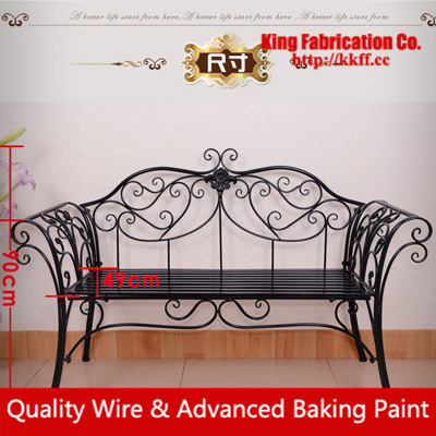 Iron Fashion Sofa Chair Living Room Balcony, Wrought Iron Sofa Loveseat  Chair Part 86