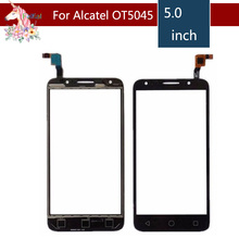 10pcs/lot For Alcatel One Touch pixi 4 4G 5045 OT5045 5045A 5045D 5045G Touch Screen Digitizer Sensor Outer Glass Lens Panel цены онлайн