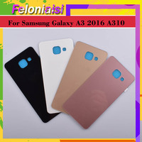 battery samsung galaxy 10Pcs/lot For Samsung Galaxy  A3 2016 A310 A310F A3100 Housing Battery Door Rear Back Glass Cover Case Chassis Shell Replacement (2)