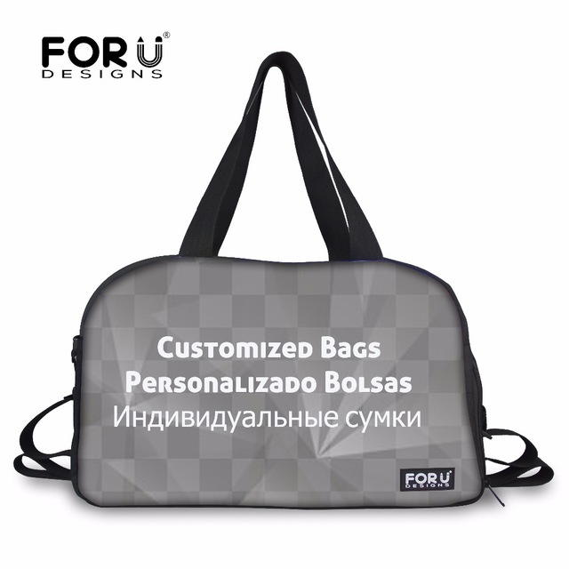 FORUDESIGNS Customized Travel Bag for Women Girls Luggage Bags Large Duffle Hand Carry Baggage New Duffle