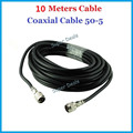 10 Metros 50-5 Cabo Coaxial para conexão com o exterior/antena interna com telefone celular repetidor do impulsionador N masculino