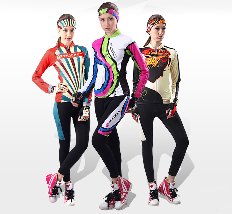 Autumn Winter Cool Road Mtb Jersey Mountain Bike Clothing Women