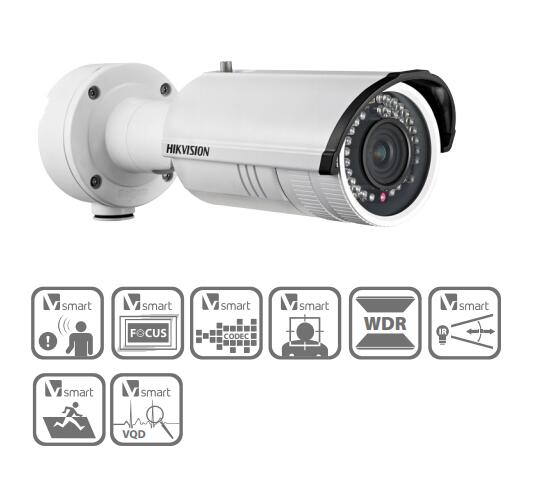 Free Shipping HIKVISION Security Outdoor IP Camera 3MP WDR IR Bullet Camera 3D DNR IP66 DS-2CD4232FWD-IZ