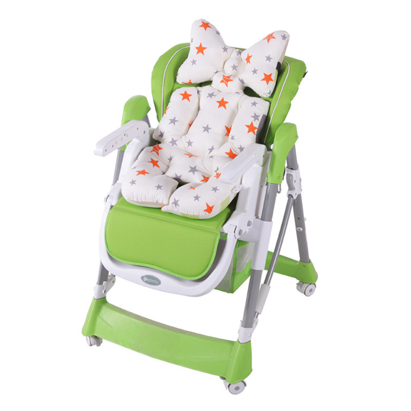 Baby Printed Stroller Pad Seat Trolley Chair Cushion Pad mattresses Pillow Cover Child Carriage Thicken Warm Cushion