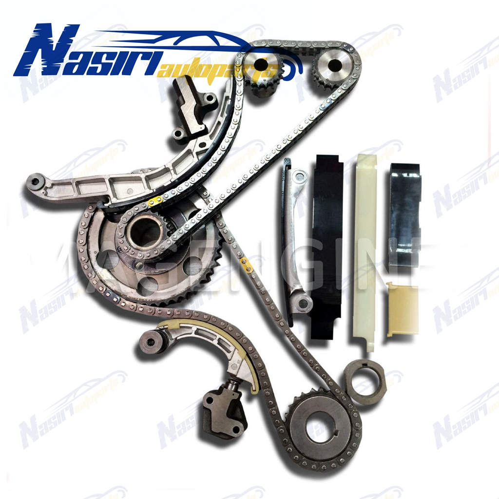 Timing Chain Kit For Nissan Almera Primera X-Trail 2.2 Diesel YD22DDT/DDTi engine timing chain change diesel motor tools 2 0 dci for nissan qashqai x trail opel