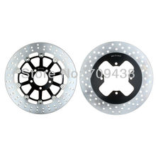 Full Set Round Front Rear Brake Disc Rotor For SUZUKI GS 500 2001 2010 GS500 E