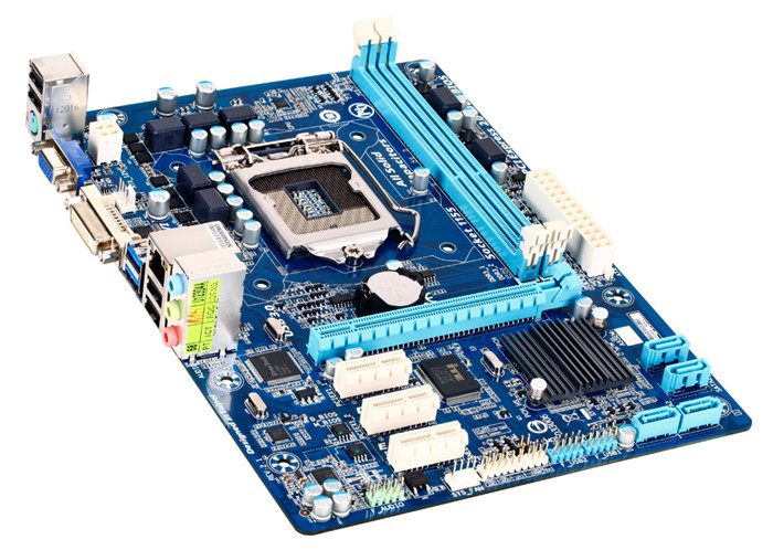 все цены на  Original GA-H61MA-D2V supports DDR3 1155 pin 22nm USB3.0 all solid integrated motherboard  онлайн
